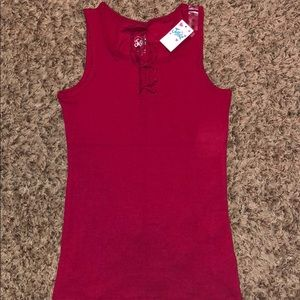 NWT Youth Girls Size 12 Tank Top from Justice.